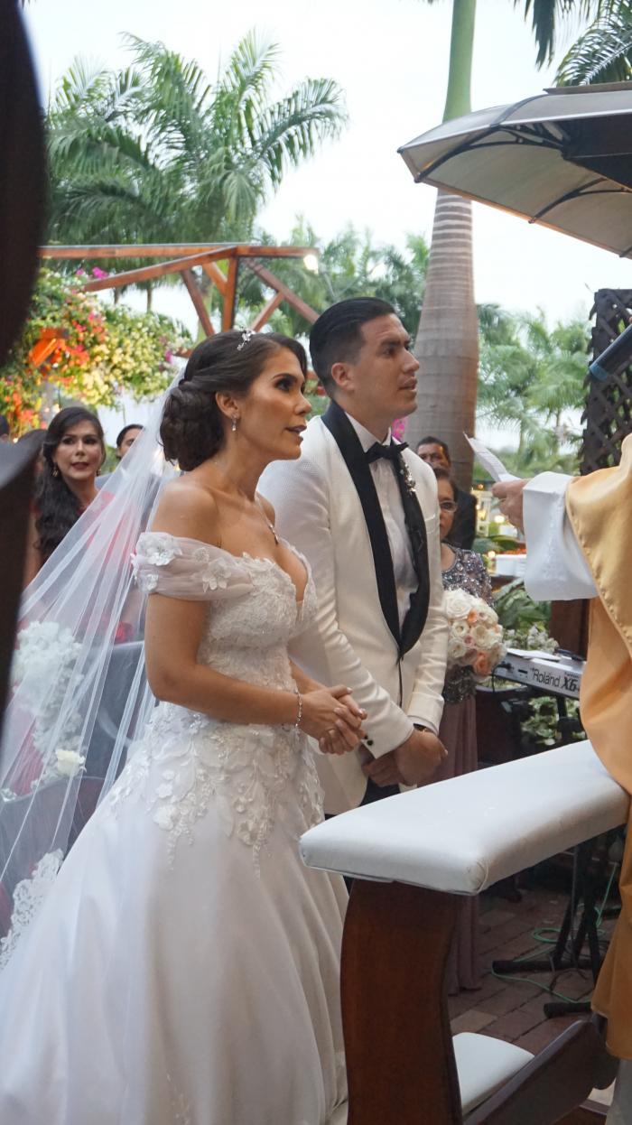 Gabriela Guzmán, boda