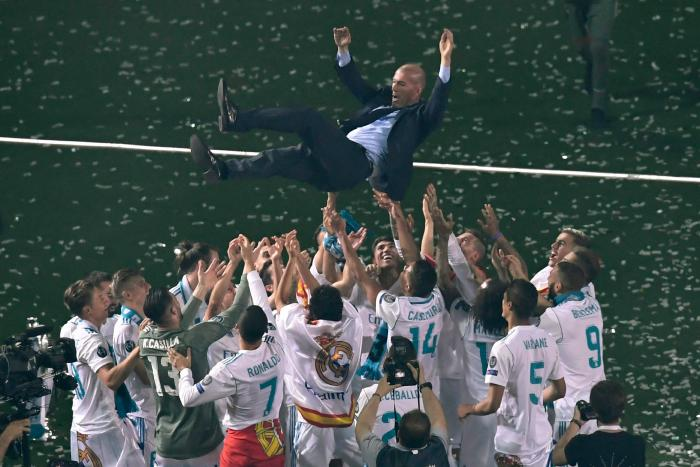 Zinedine-Zidane-Real Madrid-Champions