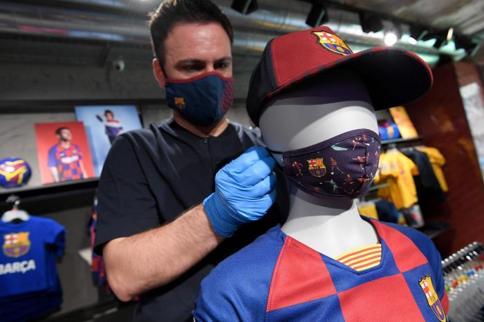Barcelona mascarillas tiendas