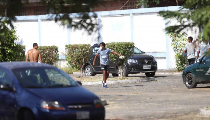 Emelec reanudó sus entrenamientos el jueves en el Polideportivo de Los Samanes.