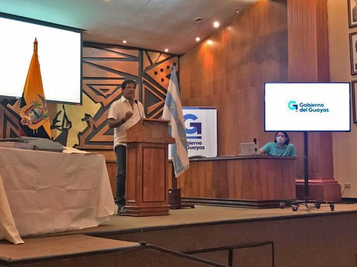 Carlos Luis Morales, rueda de prensa