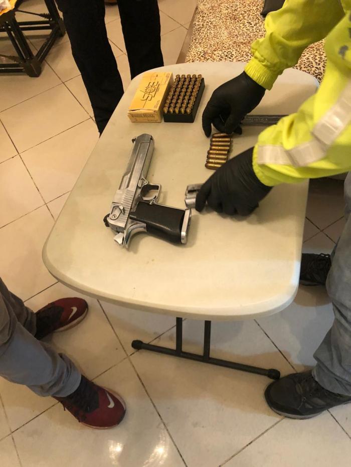 Detención Abdalá Arma Emergencia