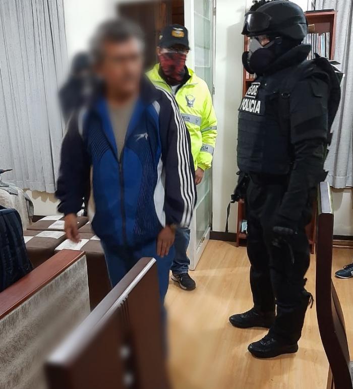 Operativo en Quito