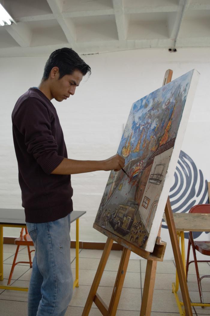 Bryan Salazar-artista-Quito