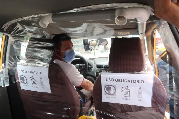 taxistas de Guayaquil