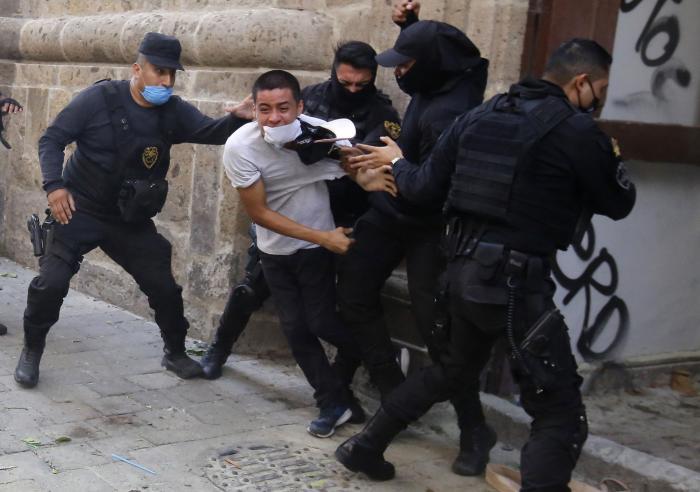 Protestas_México_Violencia policial