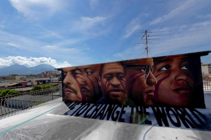 george-floyd-mural-mundo-arte-graffitti-italia
