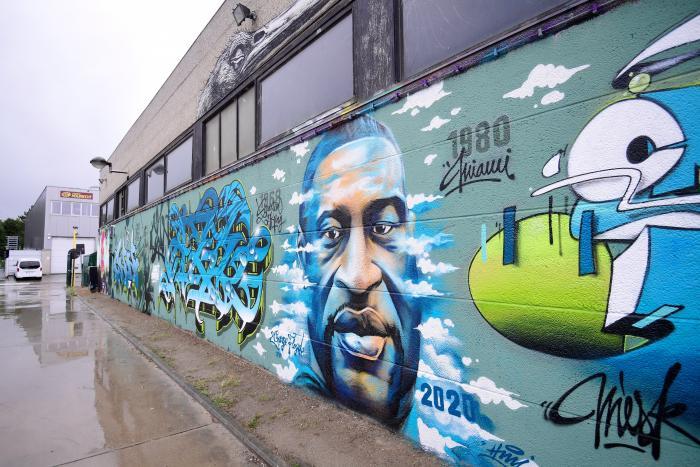 george-floyd-mural-mundo-arte-graffitti-belgica-urbano