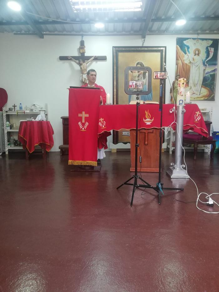 Misa virtual - Santuario Santa María Madre de Guayaquil