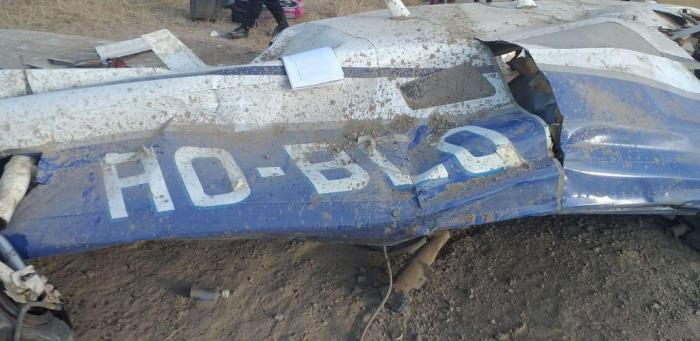 Avioneta accidentada en Tumbes
