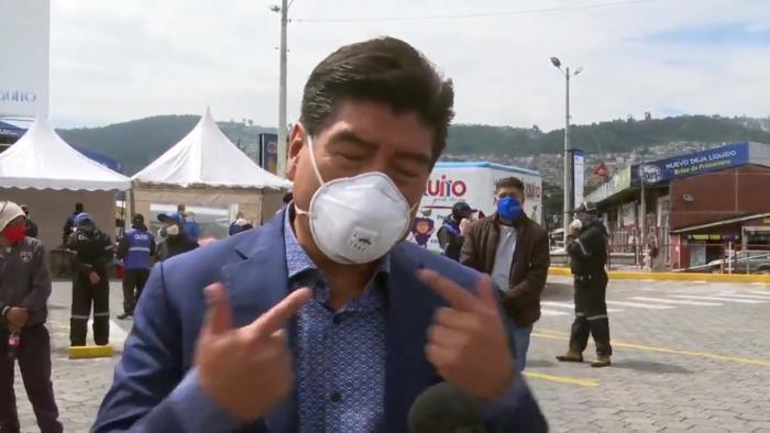 Jorge Yunda, alcalde de Quito