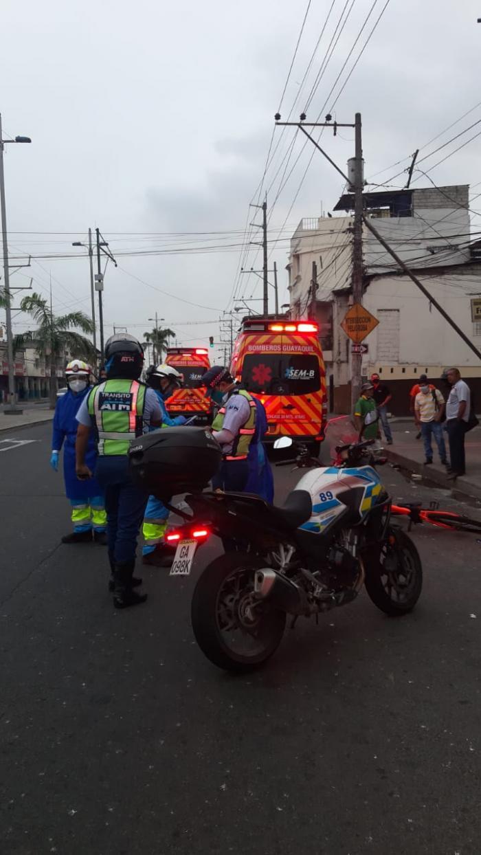 muerte de ciclista Guayaquil