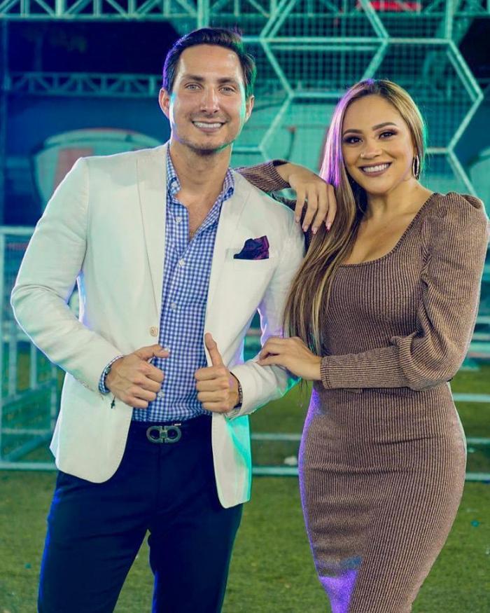 Eduardo Andrade y Ángela Orellana.
