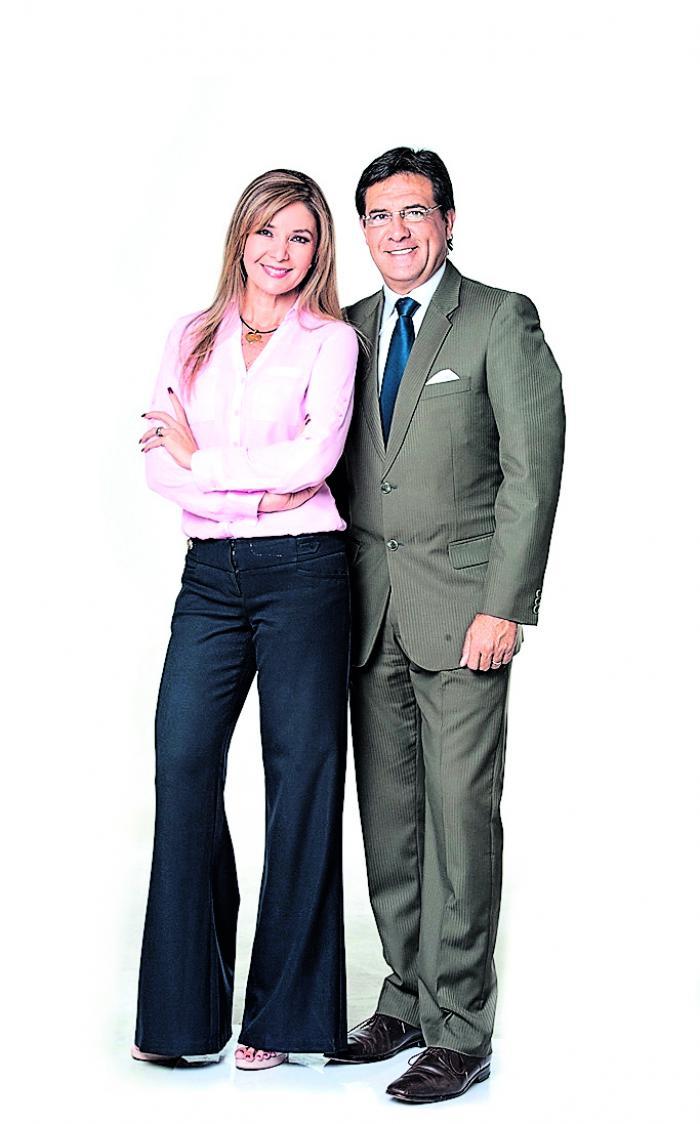 Rocío Cedeño y Carlos Luis Morales.