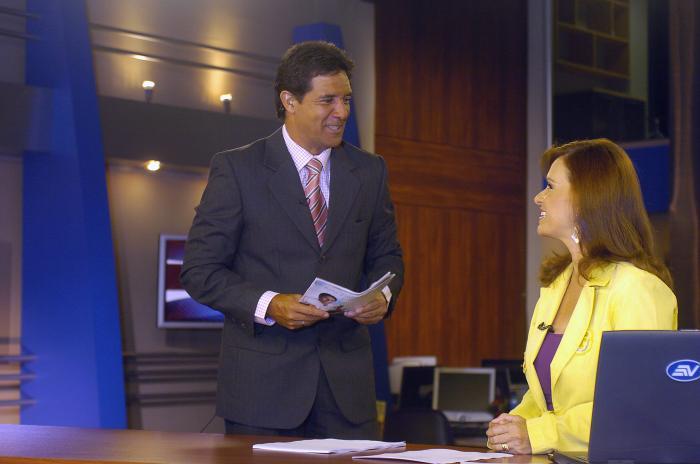 Carlos Luis Morales y Teresa Arboleda.