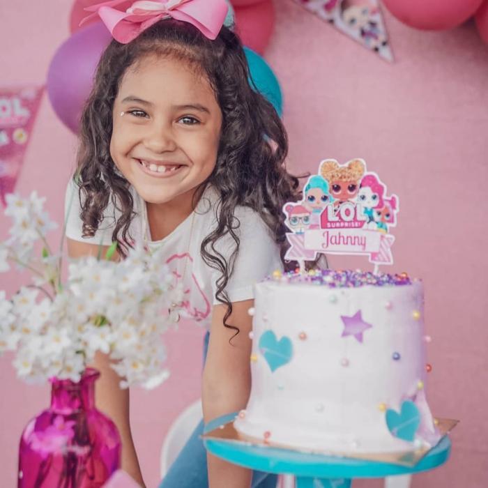 La hija de Gineth Moreno