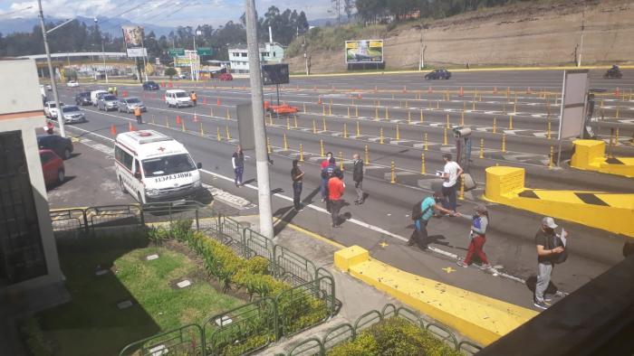 Peaje-Quito-Tránsito