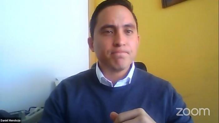 Daniel Mendoza compareció a la comisión de la Asamblea que lo investiga