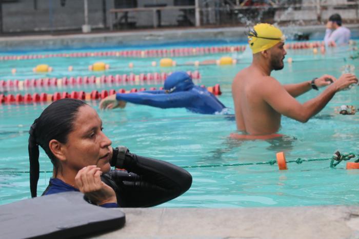 Gilda Rivadeneira apnea Ecuador