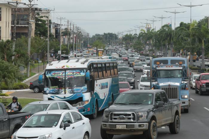 Tráfico Samborondón
