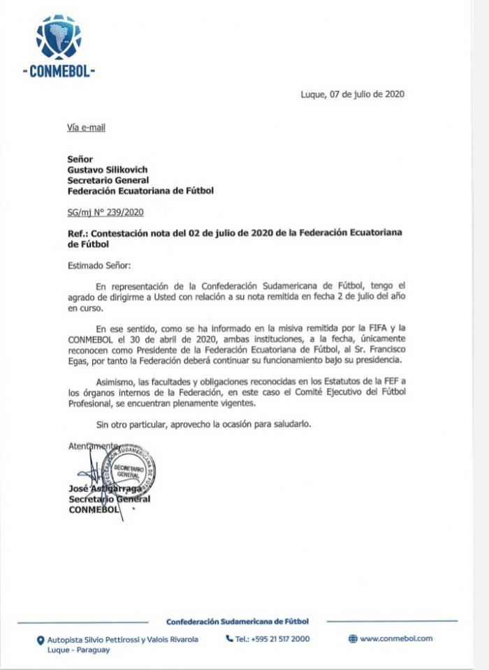 Carta+Conmebol+Reconoce+Egas