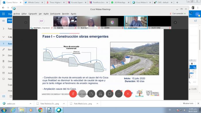 Capture_Rio Coca_Obras de contención