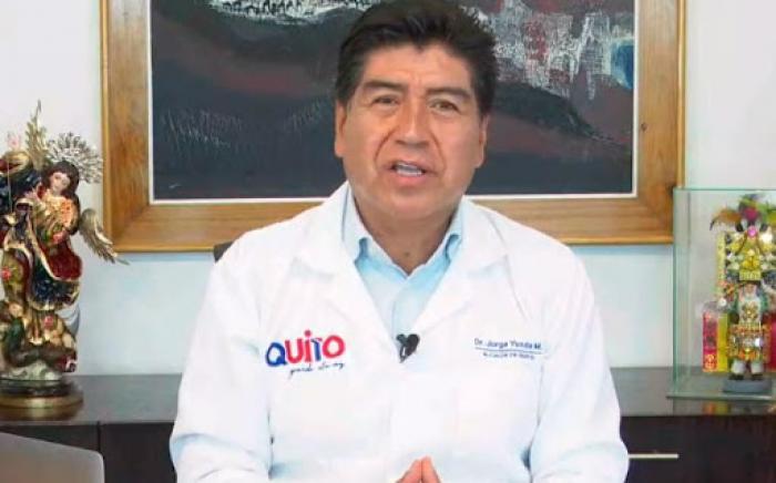 Jorge Yunda en entrevista con Teleamazonas