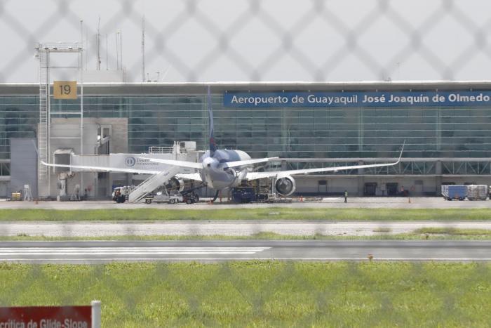 TAGSA, concesionaria del Aeropuerto de Guayaquil, comunicó la decisión.