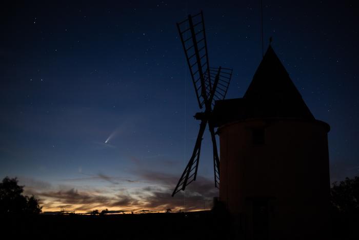 Astronomía_Cometa_Neowise