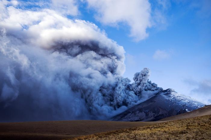 Volcán ecuatoriano