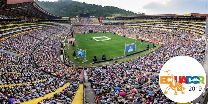 asamblea de los testigos de Jehová en 2019