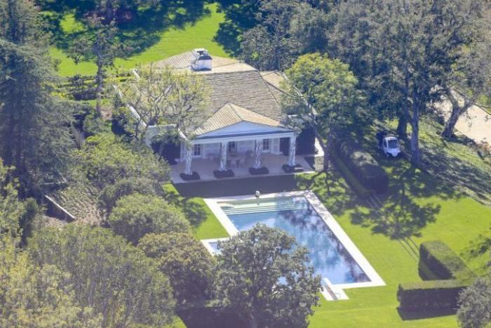 Una de las propiedades del magnate estadounidense