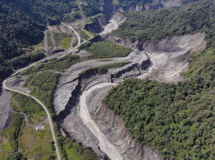 Río Coca_Avance del proceso de erosión_Julio 21 de 2020