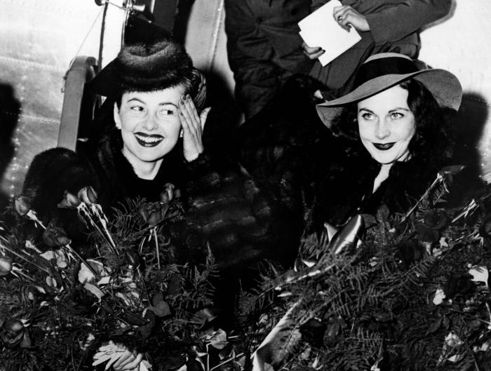 Olivia de Havilland y Vivien Leigh