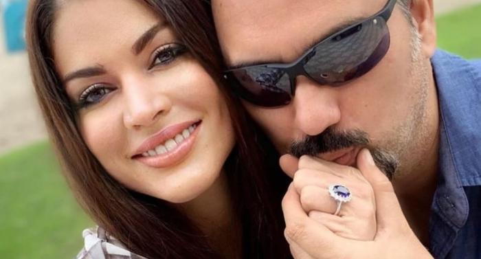 José Daniel Parra y su esposa Diana.