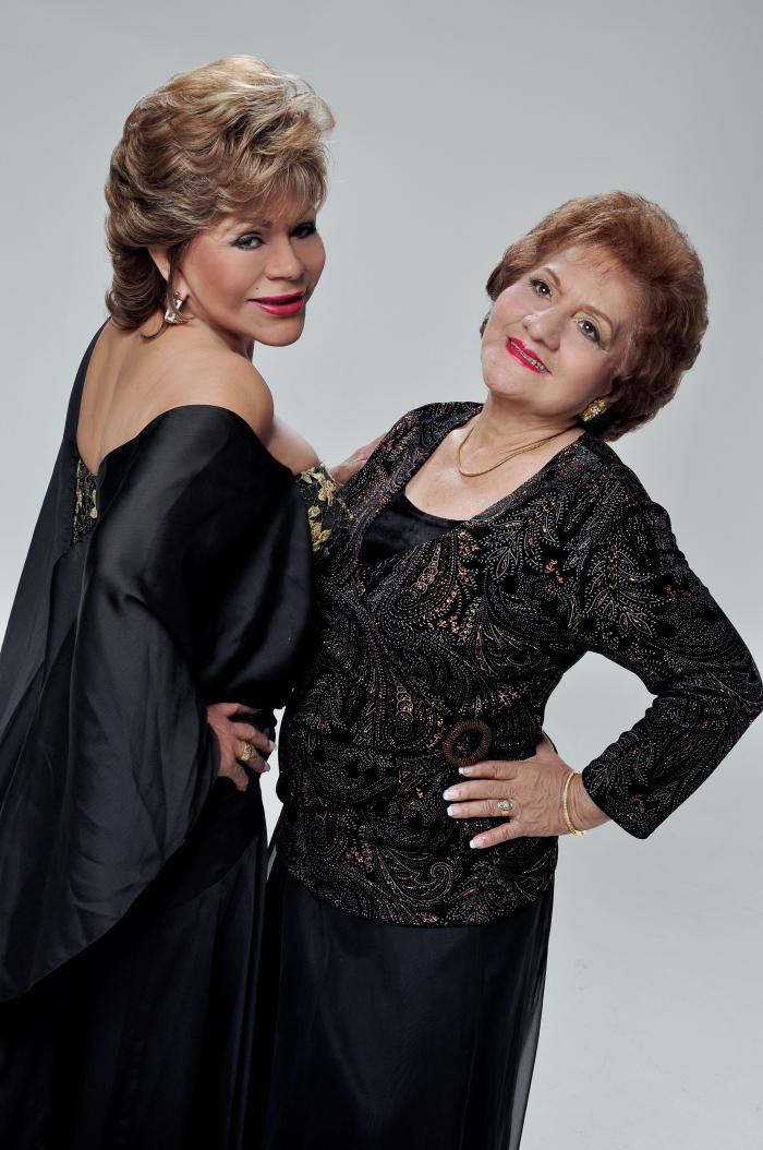 Hilda Murillo y Fresia Saavedra
