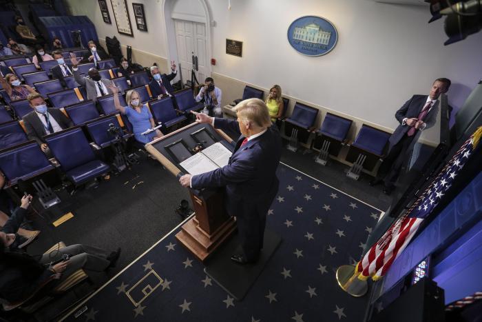 EE. UU._Elecciones_Donald Trump_Coronavirus