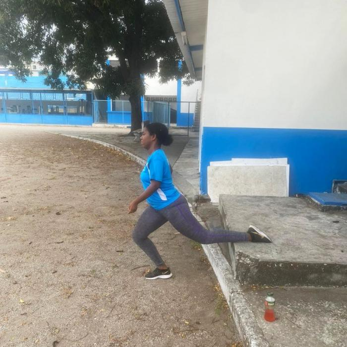 Seneida Rodriguez atletismo Guayas