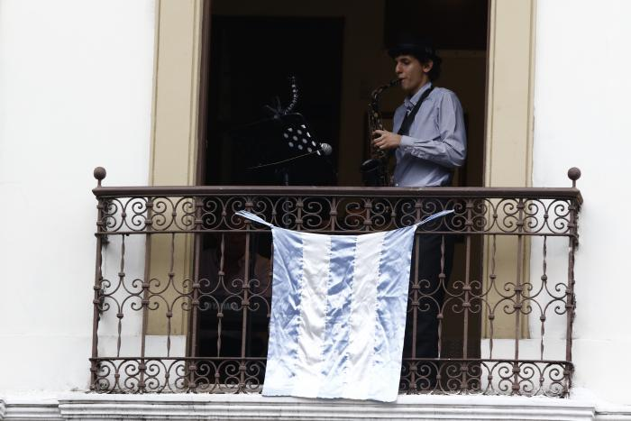 Concierto de balcón