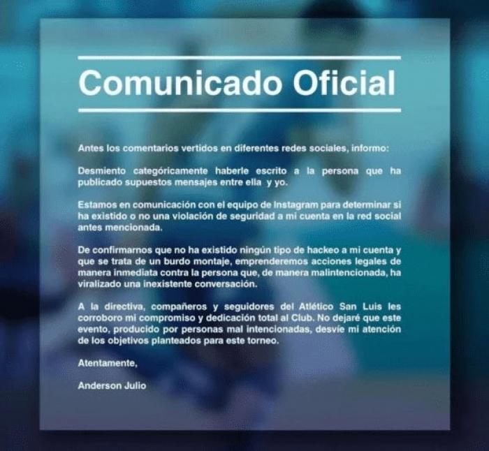 Comunicado-anderson-julio-jugador