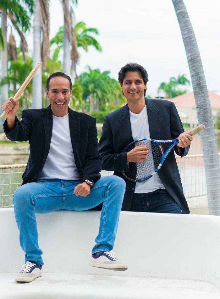 José Vicente Habze y Nicolás Lapentti.