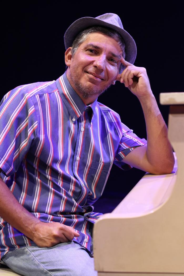 Fabricio Rodríguez, director y productor del espectàculo.