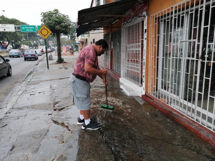 fuga de agua en Pradera 2