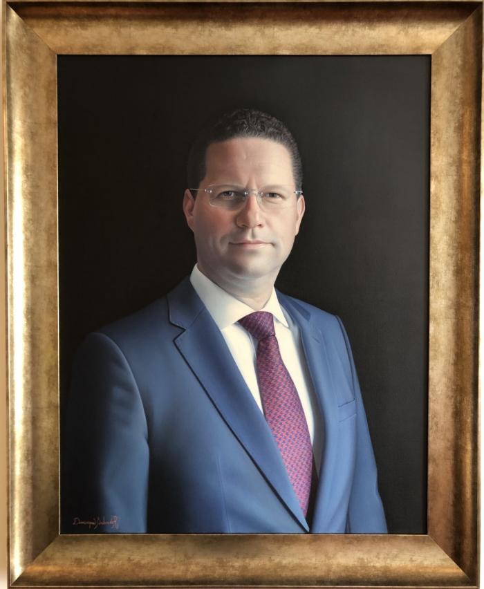 Retrato del alcalde de Quito, Mauricio Rodas