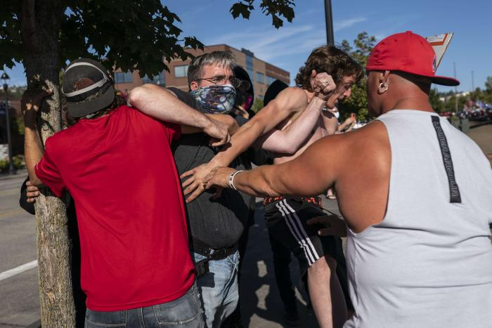 Estados Unidos_Choque_Supremacismo blanco