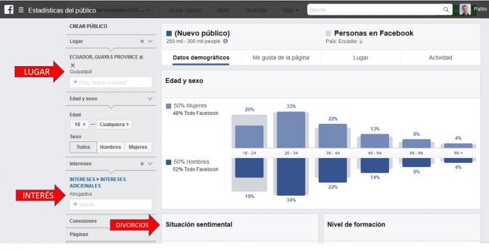 AUDIENCIA FBM