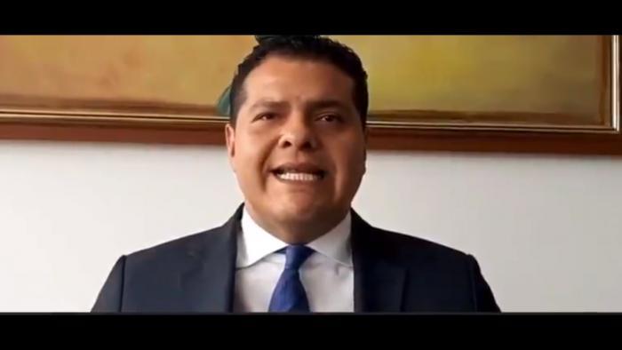 Harrison Salcedo asume la defensa de Eliseo Azuero, 1 sep. 20