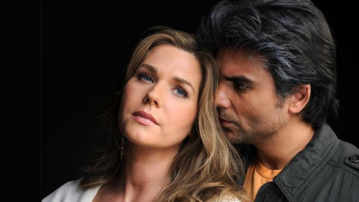 Sonya Smith y Jorge Luis Pila