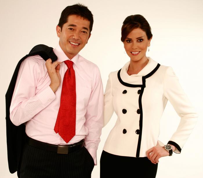 José Antonio Sánchez y Ximena Zamora.