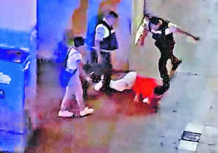 Imagen Policias captura